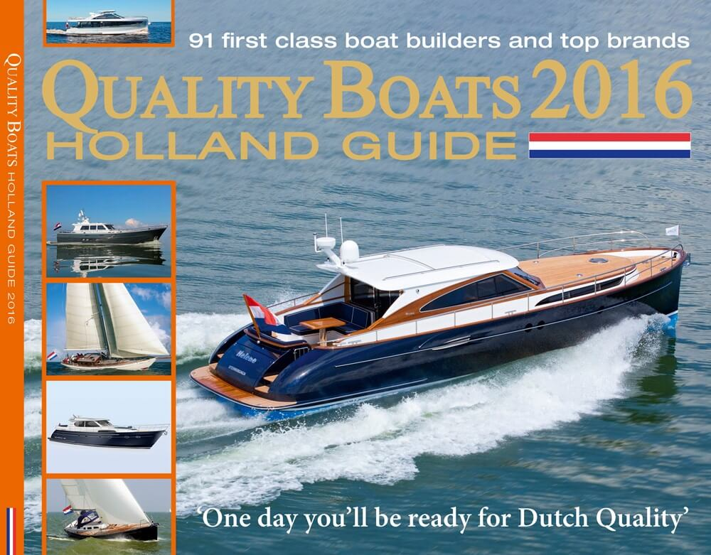 Quality Boats Holland Guide grootste exportinitiatief Nederlandse werven
