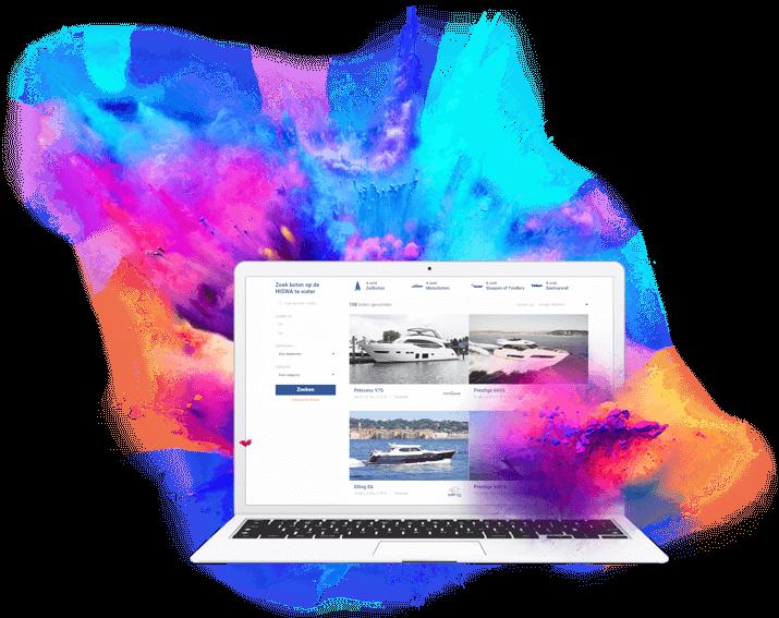 Webdesign door specialist YachtFocus
